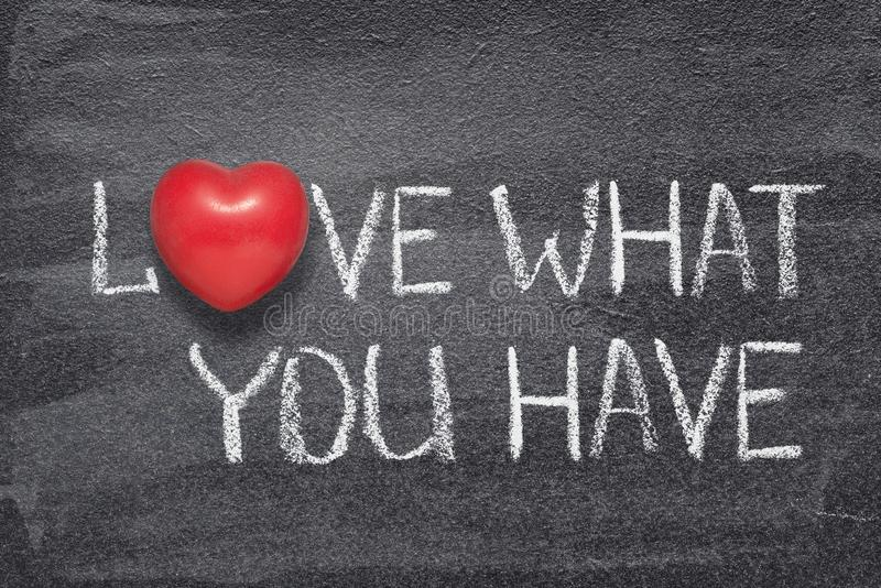 Lieben Sie, was Sie Herz haben lizenzfreie stockfotos