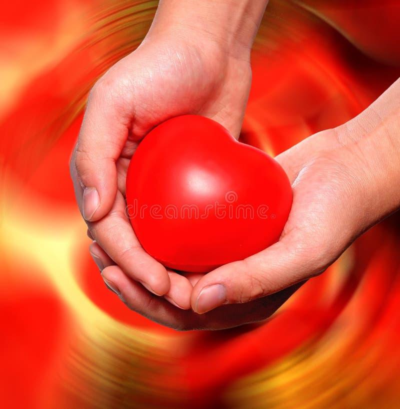 Lieben und Interessieren stockbild