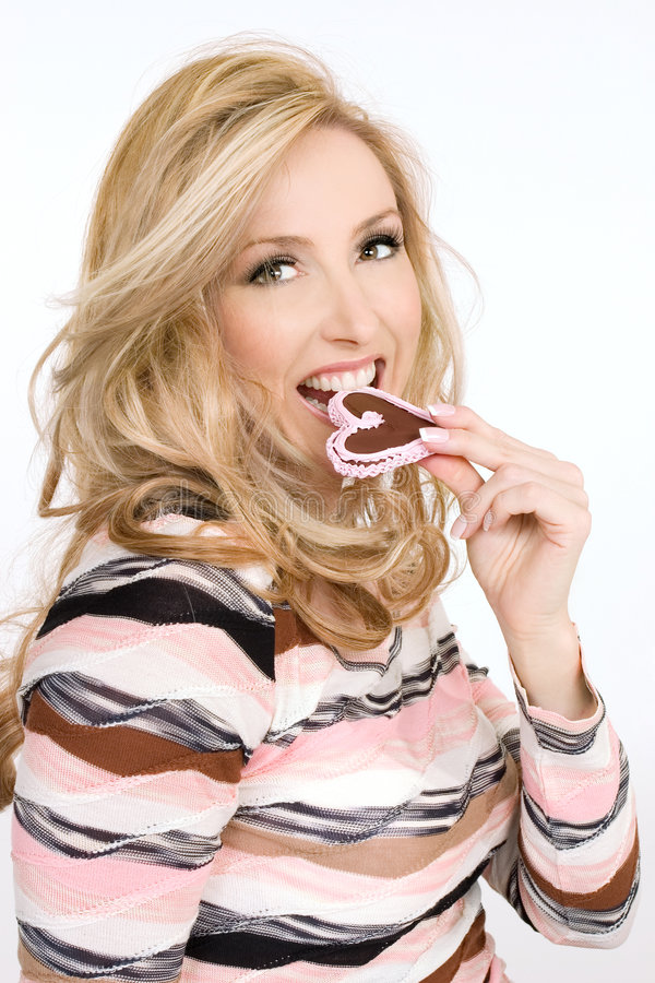 Liebes-Bonbons stockfoto