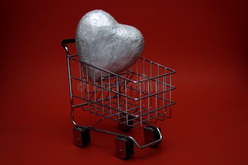 Liebes-Einkaufen stockfotos