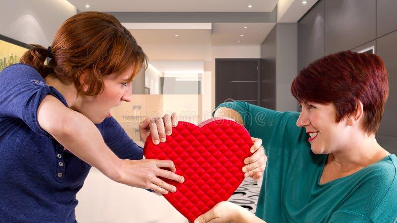 Liebes-Rivalen stockbild