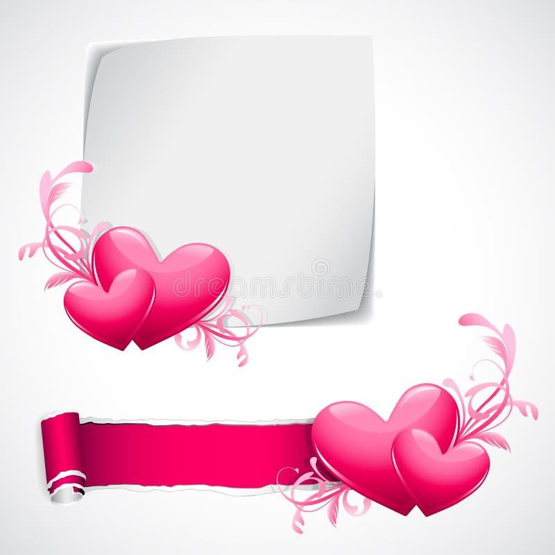 Liebes-Schablone vektor abbildung