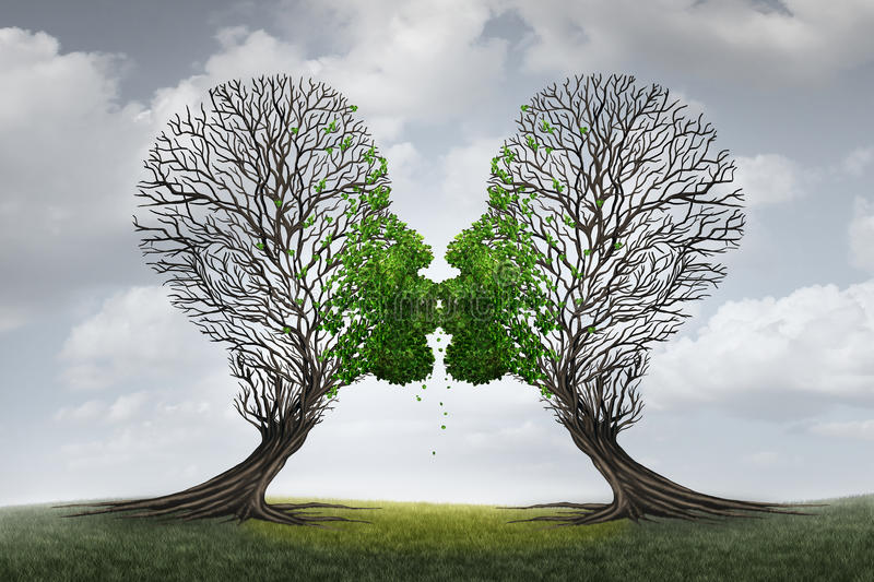 Liebes-Therapie vektor abbildung