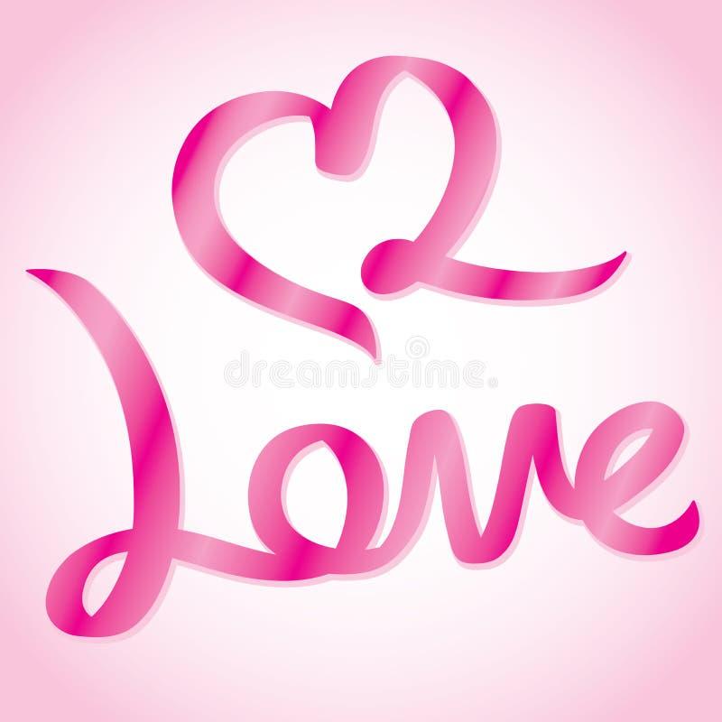 Liebesbenennung vektor abbildung