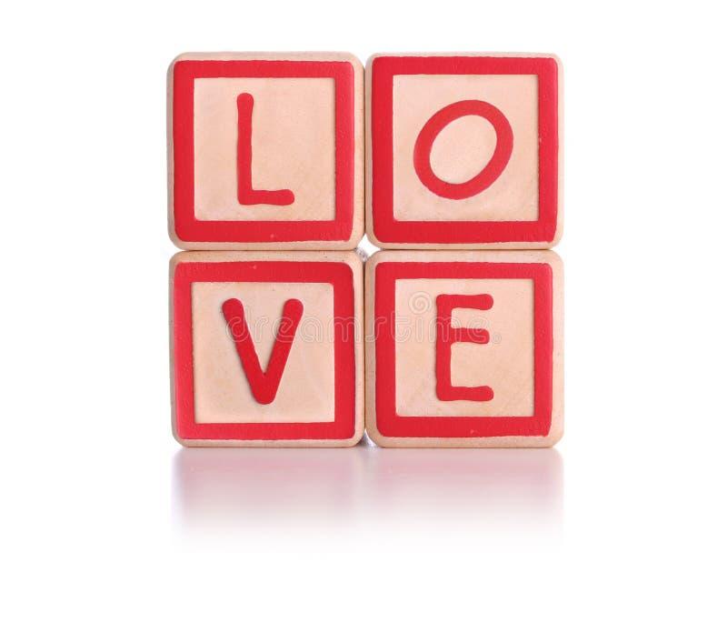 Liebesblöcke stockbilder