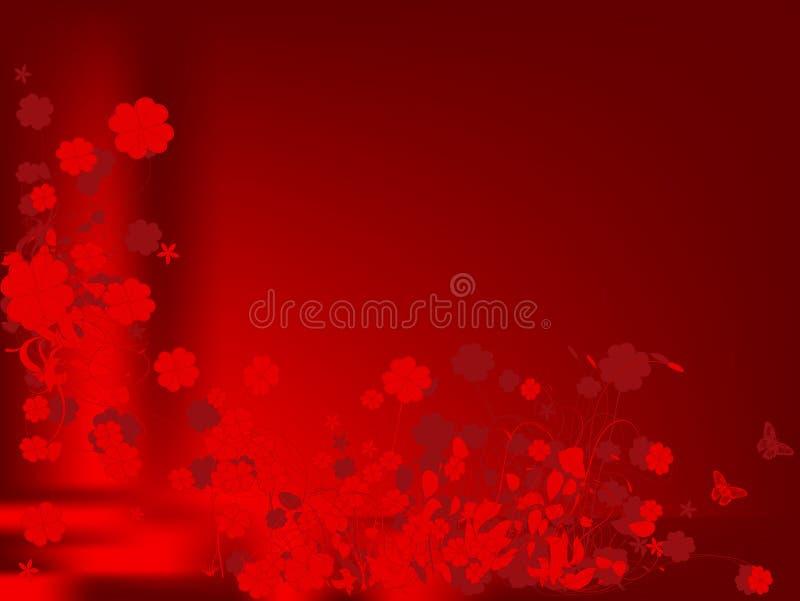 Liebesblumenauslegung vektor abbildung