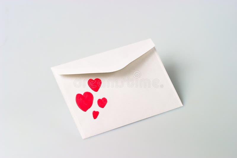 Liebesbrief lizenzfreies stockfoto