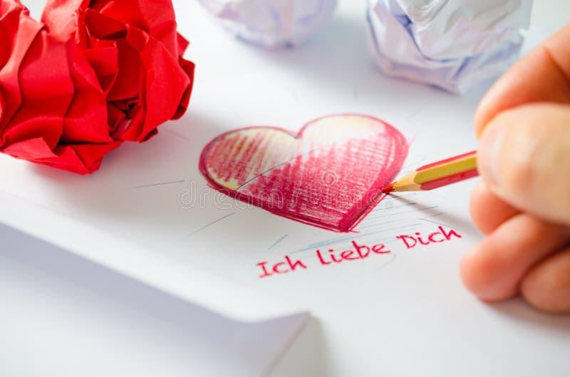 ich liebe dich Liebesbrief