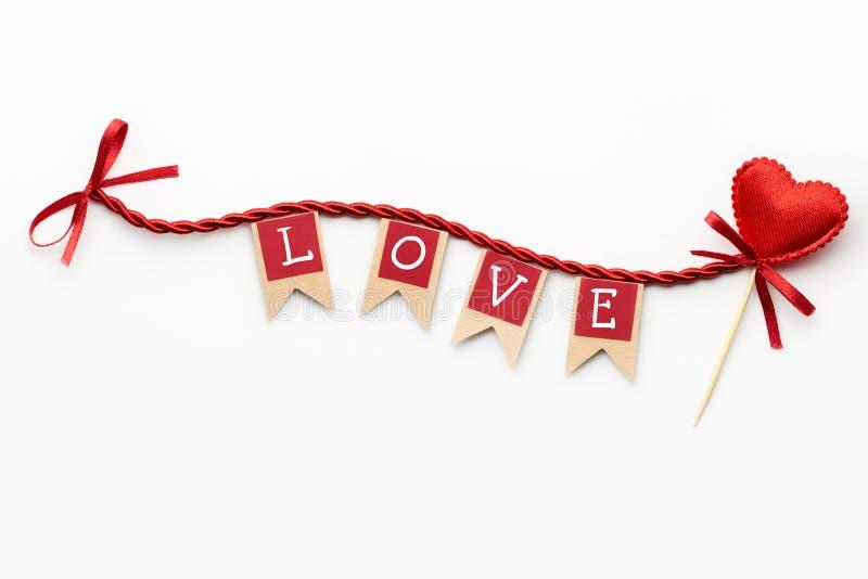Liebesflaggen lizenzfreies stockfoto