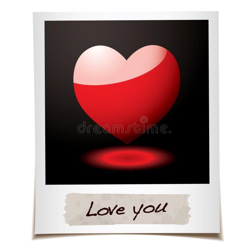 Download Liebesfoto vektor abbildung. Illustration von symbol - 12203459