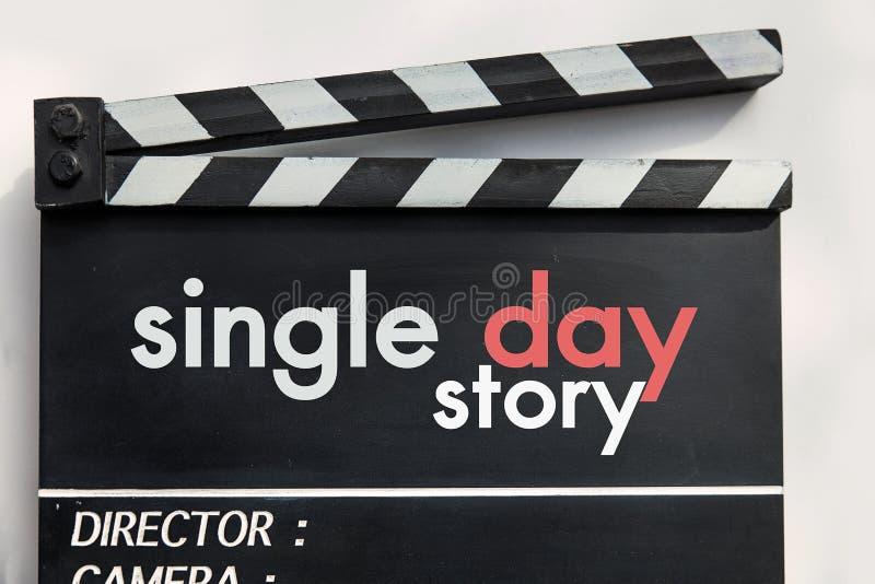 Liebesgeschichtefilmschiefer lizenzfreies stockbild