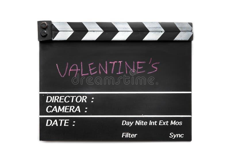 Liebesgeschichtefilmschiefer lizenzfreie stockbilder