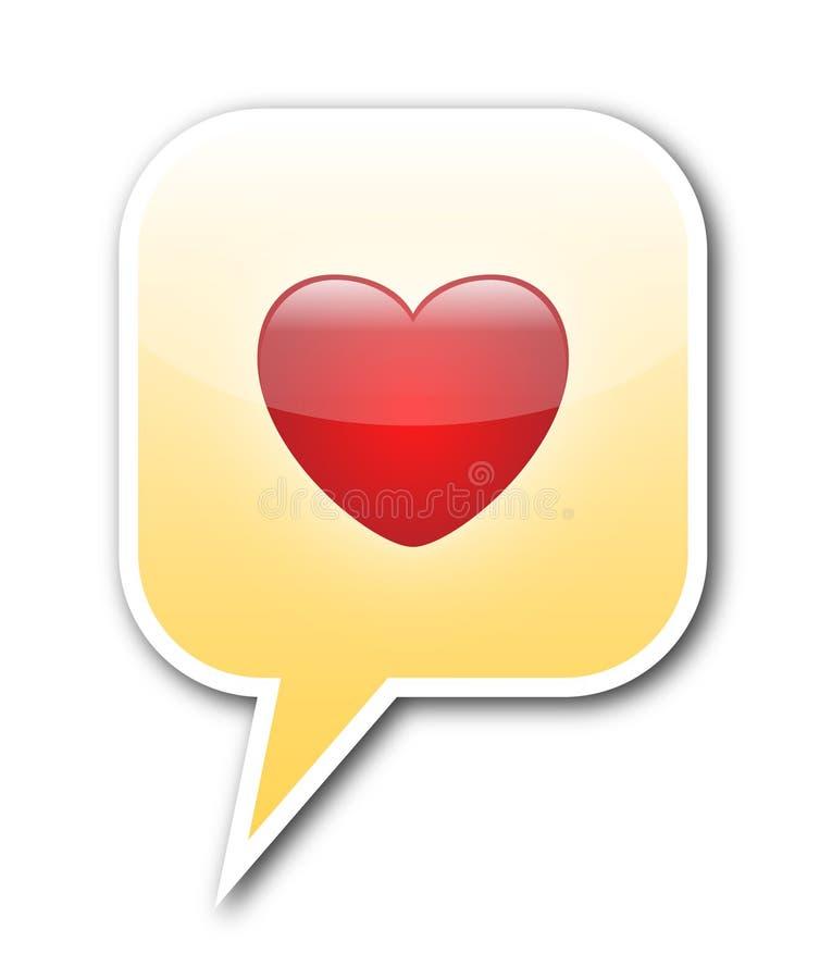 Liebesluftblase Stockbilder
