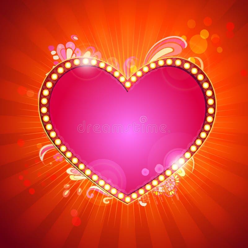 Liebesmeldung vektor abbildung