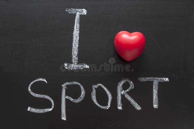 Liebessport stockfoto