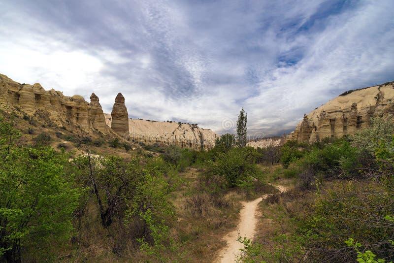 Liebestal in Cappadocia stockfotos