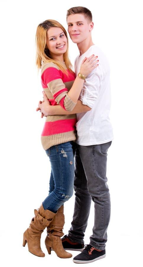 Liebevolle Paare des Spaßes lizenzfreies stockbild