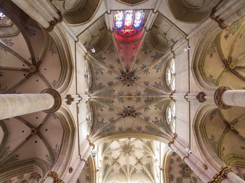 Liebfrauen教会穹顶实验者的,德国 免版税库存照片