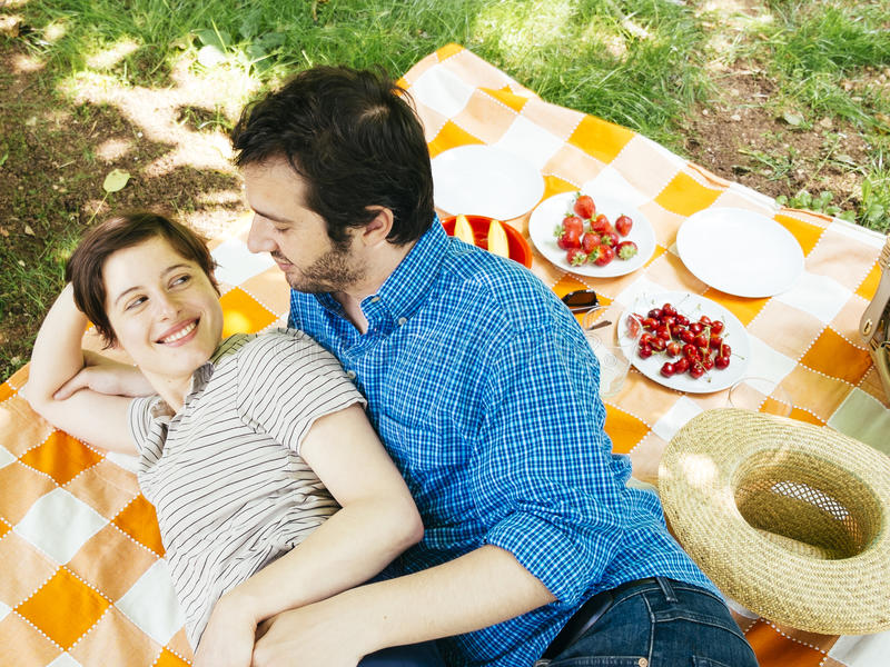 Picknick-Sex Im Freien