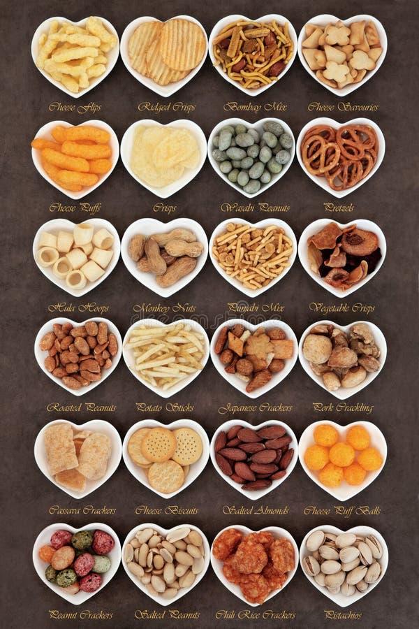 Lieblingssnack-food lizenzfreies stockbild