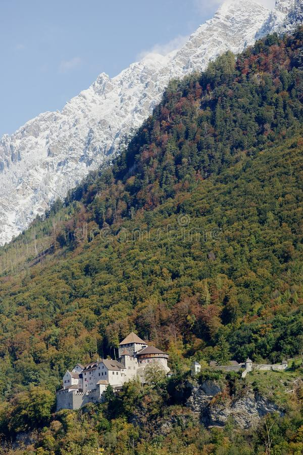 Liechtenstein Castle royalty free stock photos