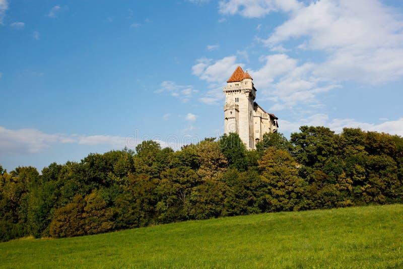 Liechtenstein Castle stock photo