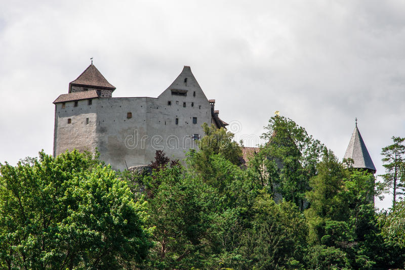 Liechtenstein Castle stock image
