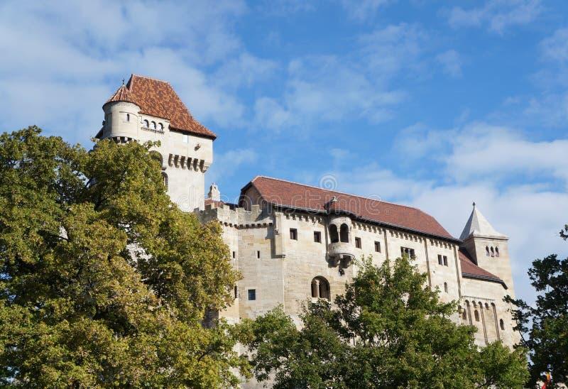 Liechtenstein kasztel, Wiedeń, Austria obrazy stock