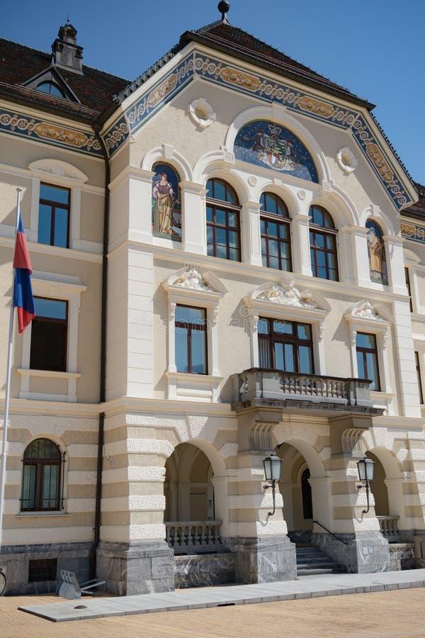 Liechtenstein Krajowi archiwa, Vaduz, Liechtenstein obraz royalty free