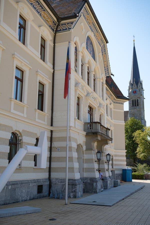 Liechtenstein Krajowi archiwa, Vaduz, Liechtenstein obrazy royalty free