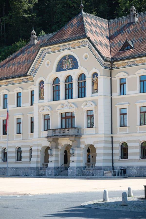 Liechtenstein Krajowi archiwa, Vaduz, Liechtenstein obrazy stock