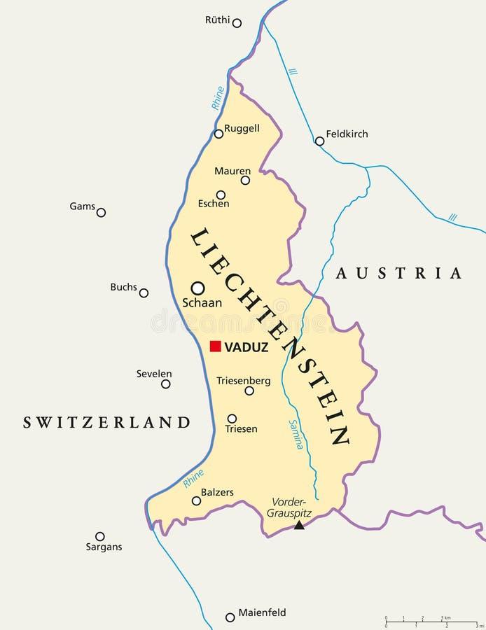 Liechtenstein political map stock vector illustration of download liechtenstein political map stock vector illustration of liechtenstein geography 104591997 publicscrutiny Gallery