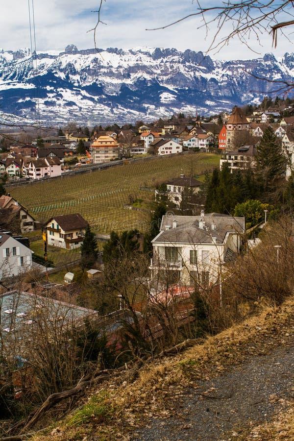 liechtenstein Vaduz zdjęcie stock