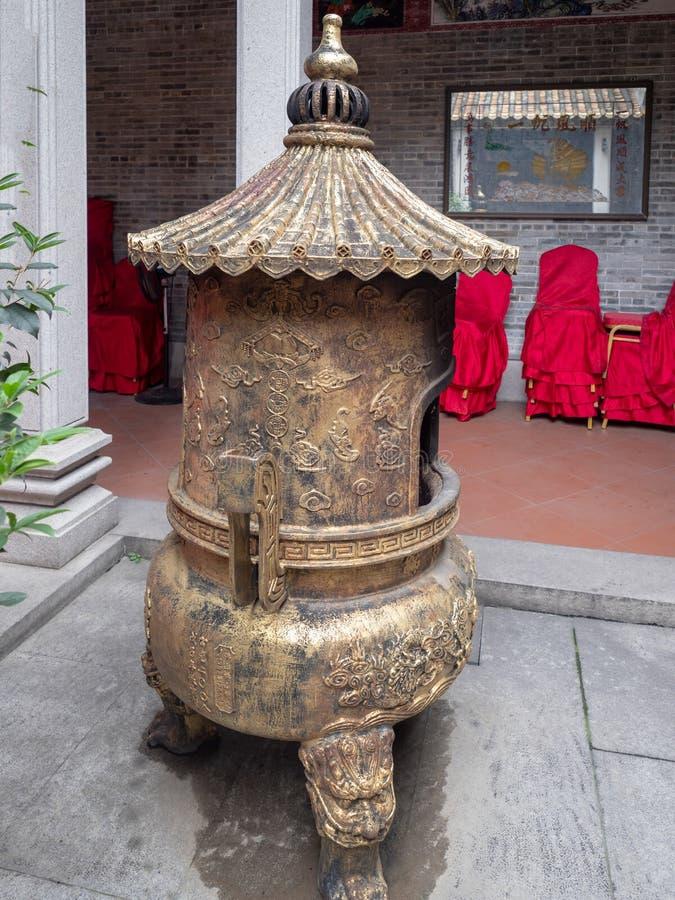 Liede Antyczna ?wi?tynia, Guangzhou, Chiny obrazy stock
