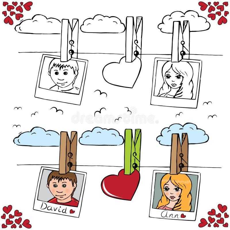 Liefde 6 royalty-vrije illustratie