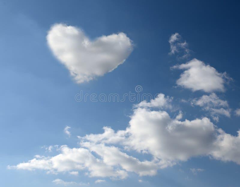 Liefde in de lucht stock fotografie