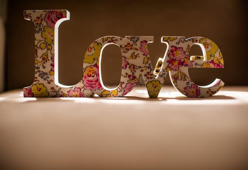 Liefde en huwelijk royalty-vrije stock foto