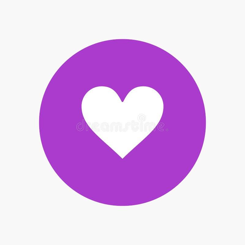 Liefde, Instagram, Interface, als stock illustratie