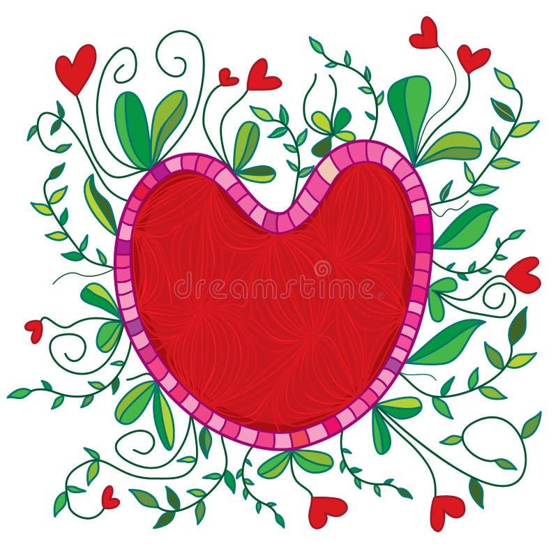 Liefde rond royalty-vrije illustratie
