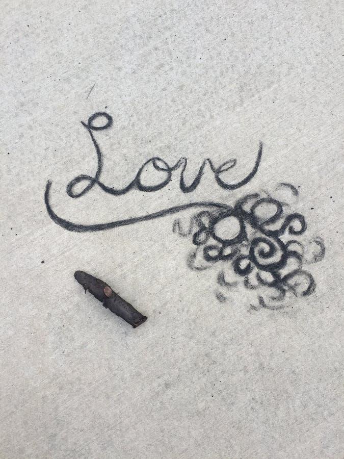Liefde van As stock afbeeldingen