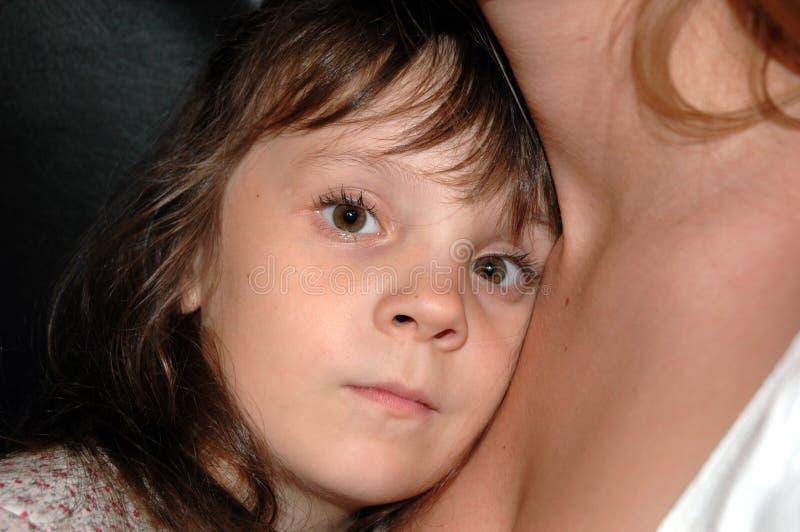 Liefde van het kind stock fotografie