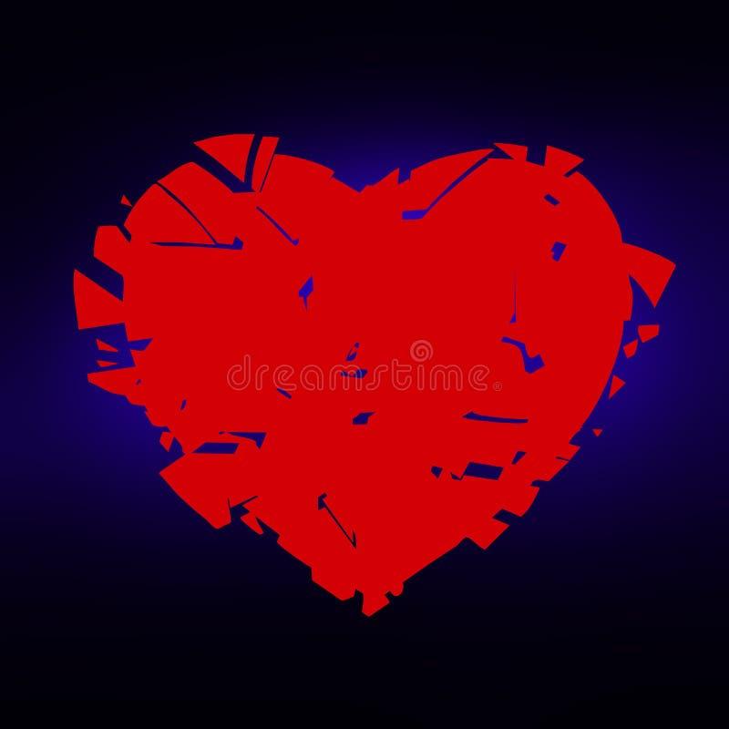 Liefde van letters voorziende illustratie Liefde het van letters voorzien voor uitnodiging en groetkaart stock afbeeldingen