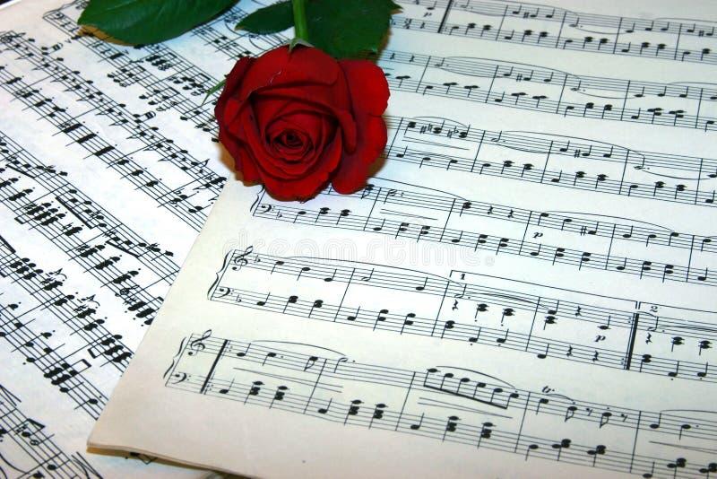 Download Liefde van muziek stock afbeelding. Afbeelding bestaande uit sleutel - 289591