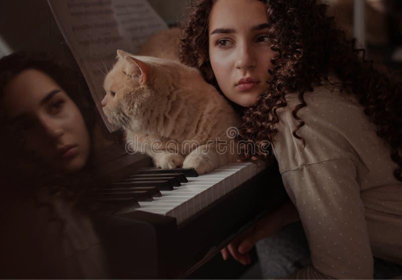 Liefde van muziek royalty-vrije stock foto's