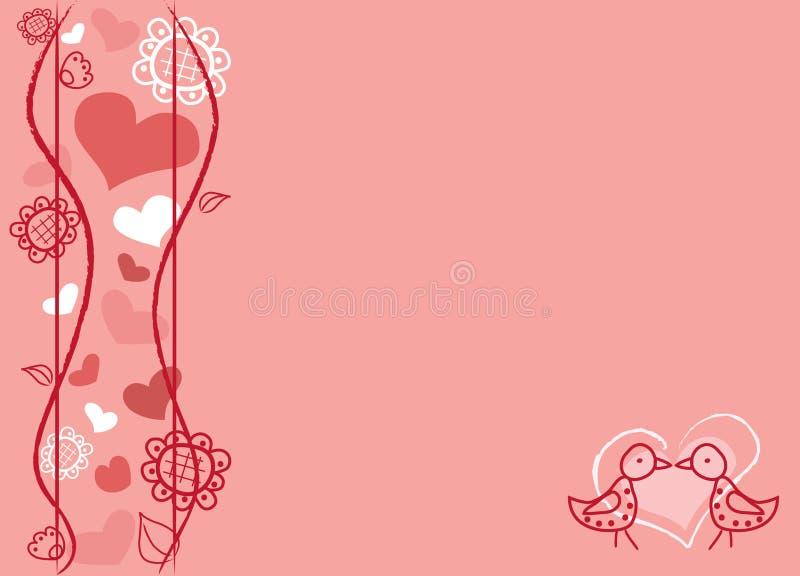Liefde voor altijd royalty-vrije illustratie