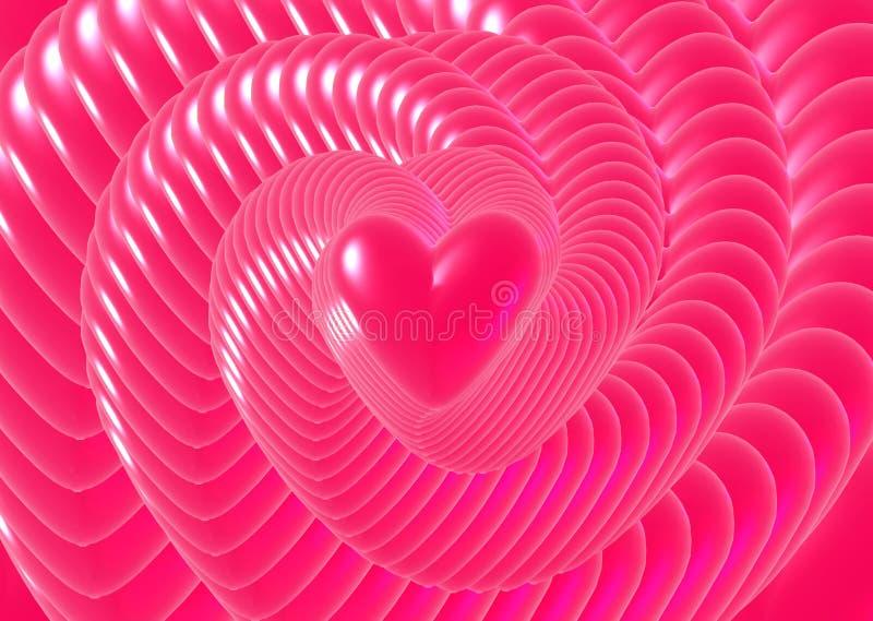 Liefde voor altijd stock illustratie