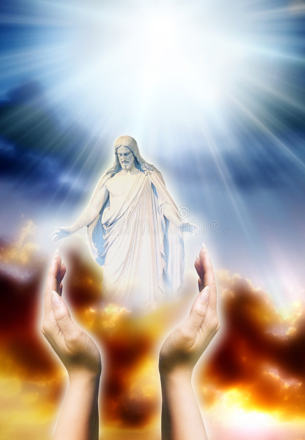 Liefde voor Christus royalty-vrije stock foto