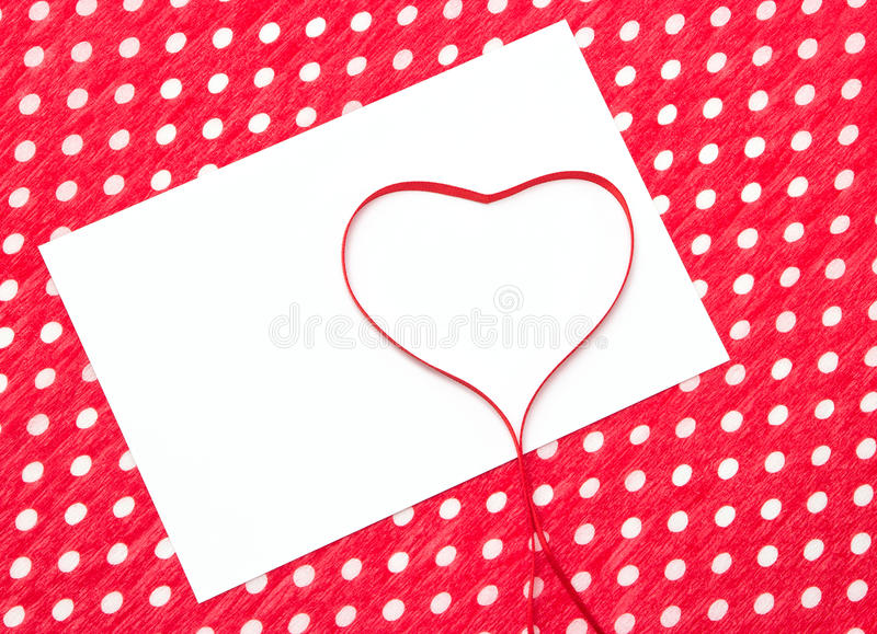 Liefdebrief, verklaring van liefde stock afbeeldingen