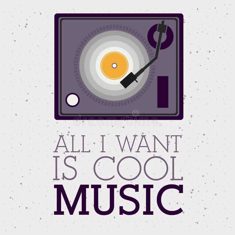 Liefdemuziek royalty-vrije illustratie