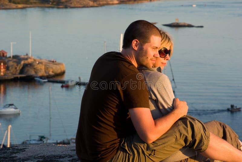 Liefdepaar royalty-vrije stock foto